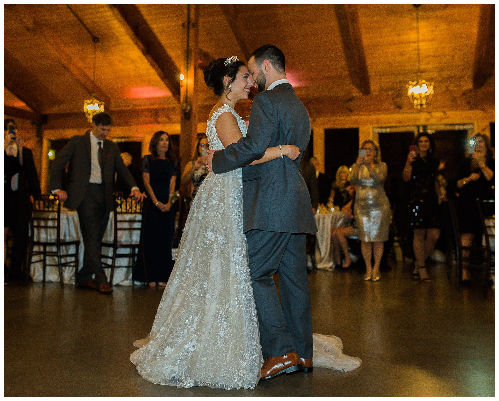 The Pavilion at Carriage Farm Wedding First Dance