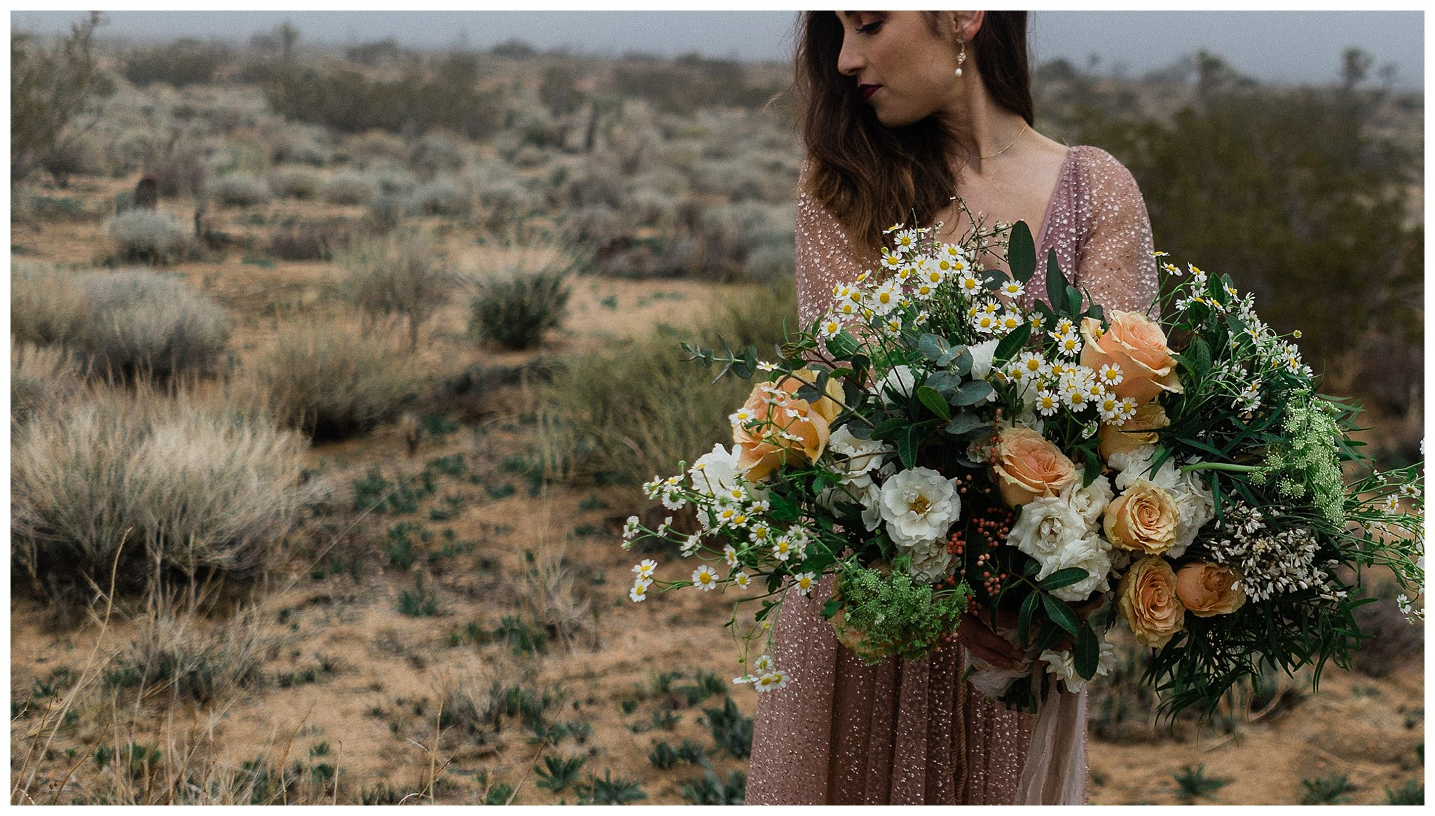 Joshua Tree National Park Elopement Style Vow Renewal