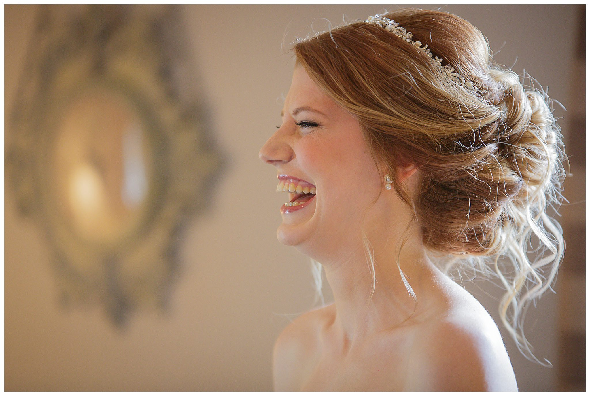 Bride at Weir Jordan House in Greensboro, North Carolina